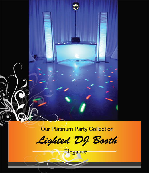 Lighted DJ Booth